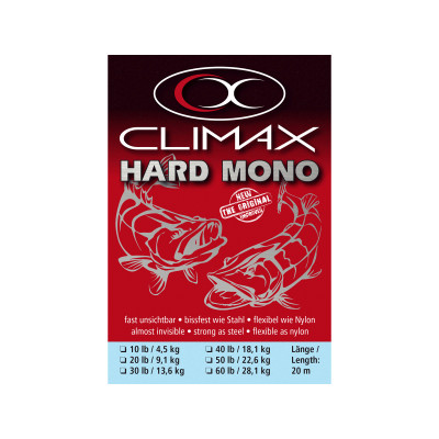 Climax Hard Mono Vorfachschnur - The Original - 20 m Angelvorfach