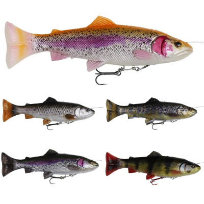 Savage Gear 4D Line Thru Pulsetail Trout 16 cm 20 cm