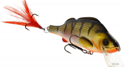 Westin Percy the Perch 10 cm Crankbait Wobbler Angelköder Hechtköder