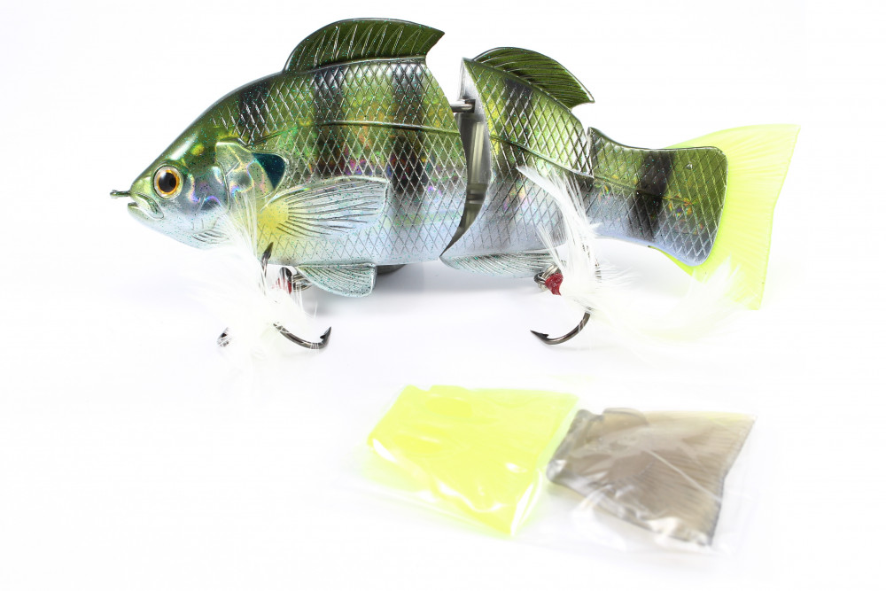 Lucky Craft Real Blue Gill 150 mm Swimbait Wobbler Baby Blue Gill Japan-Wobbler