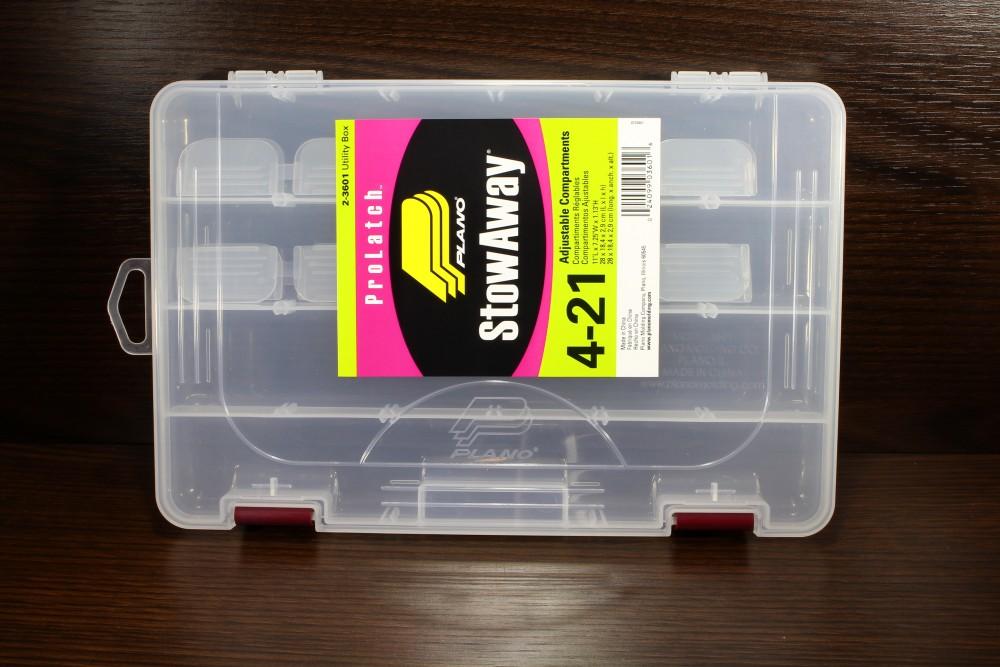 Plano Köderbox ProLatch StowAway 2-3613 Angelbox Zubehörbox