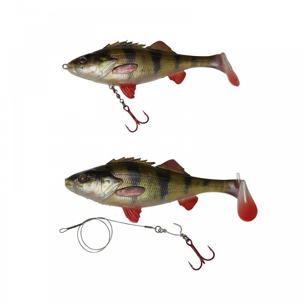 Savage Gear 4D Perch Shad 12,5 cm 17,5 cm 20 cm