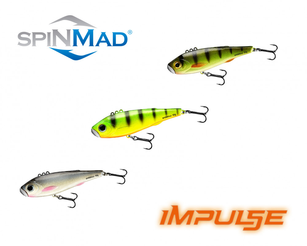 Spin Mad Impulse 20 g Wobbler Vibrationswobbler